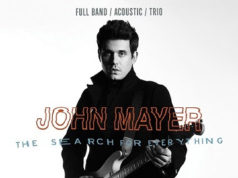 John Mayer promotional poster for The Search For Everything World Tour. Photo provided.