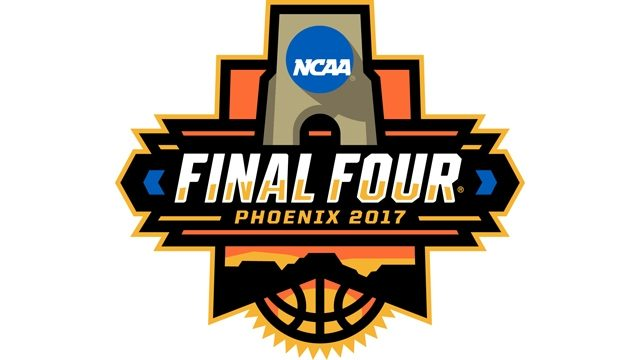Final four logo from March Madness 2017. Photo by: NCAA