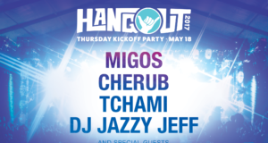 Hangout Music Fest Thursday Pre-party lineup. Photo by: Hangout Music Fest