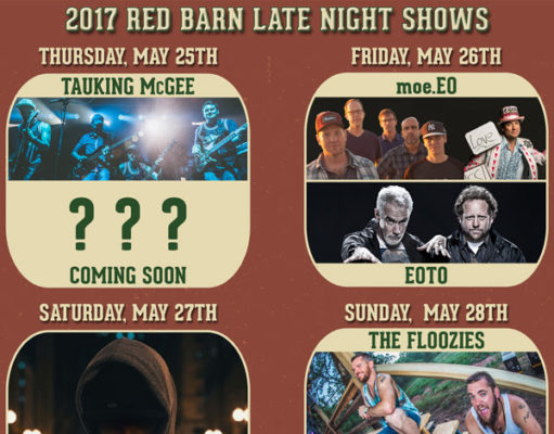 Summer Camp Music Festival 2017 late night performance. Photo provided.