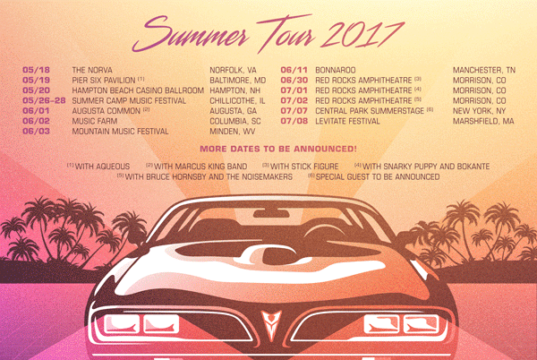 Umphrey's McGee Summer Tour 2017. Photo provided.