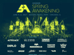 Spring Awakening Music Festival 2017 lineup. Photo provided.