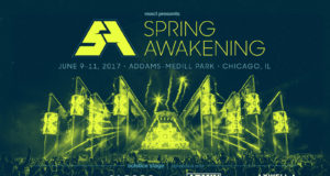 Spring Awakening Music Festival 2017 lineup. Photo provided.
