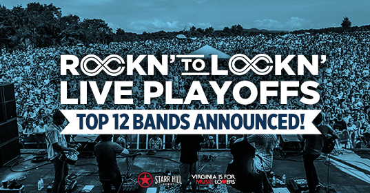 LOCKN Music Festival's live playoffs featuring Rockn' to Lockn' 2017. Photo provided.