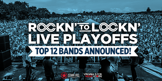 LOCKN Music Festival's live playoffs featuring Rockn' to Lockn' 2017. Photo provided.