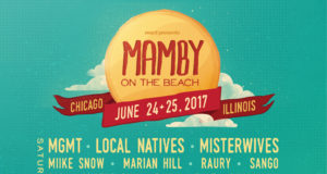 Mamby on the Beach 2017 lineup. Photo provided.