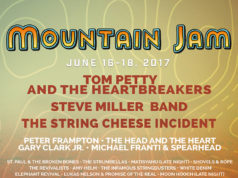 Mountain Jam 2017 lineup. Photo provided.