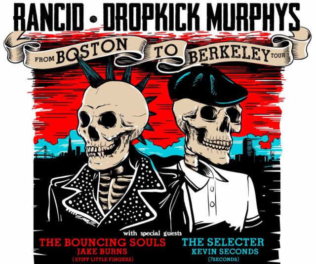Rancid & Dropkick Murphys From Boston to Berkeley Tour. Photo provided.