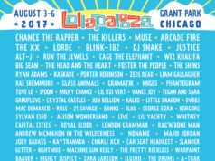 Lollapalooza 2017 lineup. Photo provided.