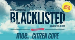 Blacklisted Music + Arts Festival 2017 lineup. Photo by: Blacklisted Music + Arts Festival