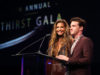 BEVERLY HILLS, CA - APRIL 18: Actors Charisma Carpenter and Drake Bell attend the Thirst Project's 8th Annual thirst Gala at Beverly Hills Hotel on April 18, 2017 in Beverly Hills, California. (Photo by Joe Scarnici/Getty Images for Thirst Project)