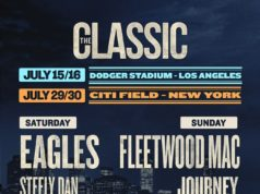 Eagles and Fleetwood Mac headlining The Classic West & The Classic East. Photo by: Live Nation / Twitter