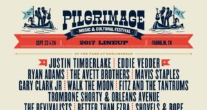 Pilgrimage Music Festival 2017 lineup. Photo by: Pilgrimage Music Festival / Twitter