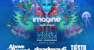 Imagine Music Festival 2017 lineup. Photo by: Imagine Music Festival / Twitter