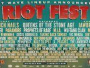Riot Fest 2017 lineup. Photo by: Riot Fest / Twitter