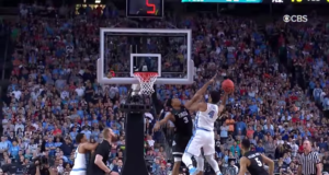 North Carolina Tar Heels against the Gonzaga Bulldogs. Photo by: March Madness / YouTube