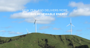 New Zealand delivering 80% renewable energy. Photo by: Tesla Motors / YouTube