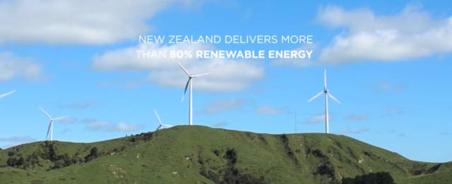 New Zealand delivering 80% renewable energy. Photo by: Tesla Motors / YouTube