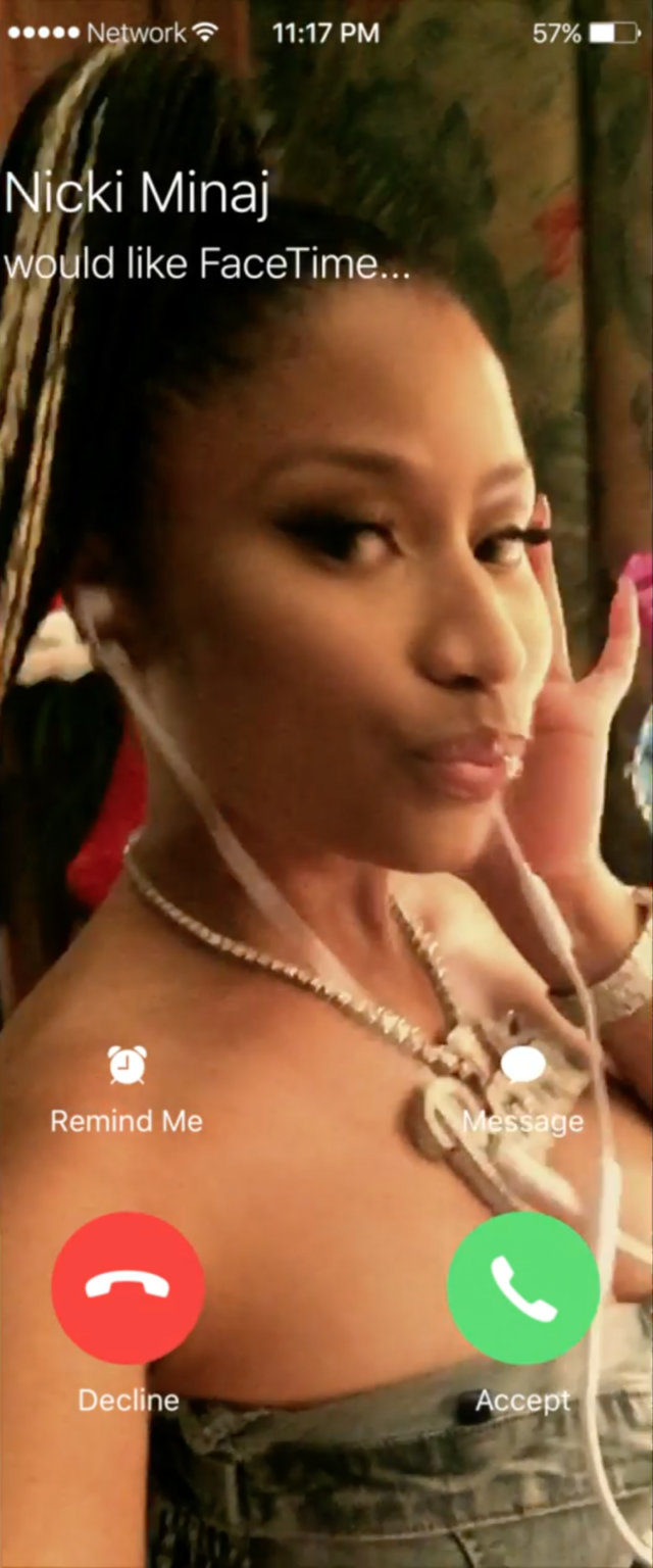 Nicki Minaj in the latest Major Lazer video 'Run Up.' Photo by: Major Lazer / YouTube