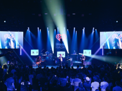 Cold War Kids performing at the iHeartRadio Theater in Los Angeles. Photo by: ceethreedom for iHeartRadio