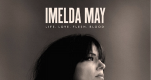 Imelda May album artwork for Life, Love, Flesh, Blood. Artwork photo credit: Max Dodson. Photo provided by: Sacks & Co.