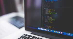 Coding on a computer. Photo by: Negative Space / Pexels.com