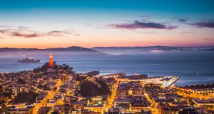 Sunset over San Francisco. Photo by: Pexels.com