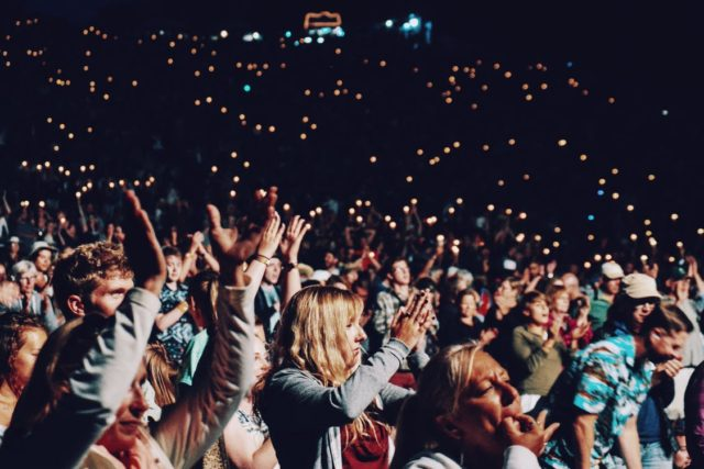 A live crowd. Photo by: Pexels.com