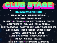 Bonnaroo 2017 Club Stage artists. Photo by: Bonnaroo