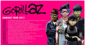 Gorillaz 2017 tour dates. Photo by: Gorillaz