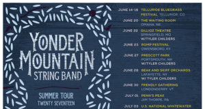 Yonder Mountain String Band 2017 summer dates. Photo by: Yonder Mountain String Band