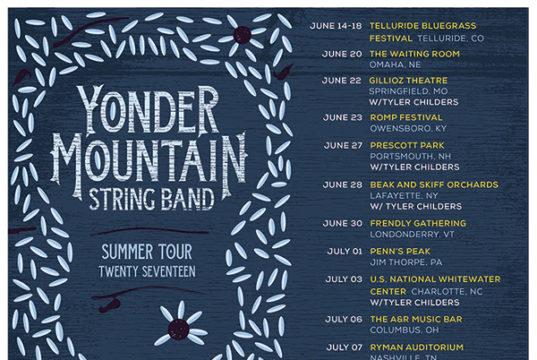 Yonder Mountain String Band 2017 summer dates. Photo by: Yonder Mountain String Band