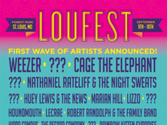 LouFest 2017 lineup. Photo by: LouFest