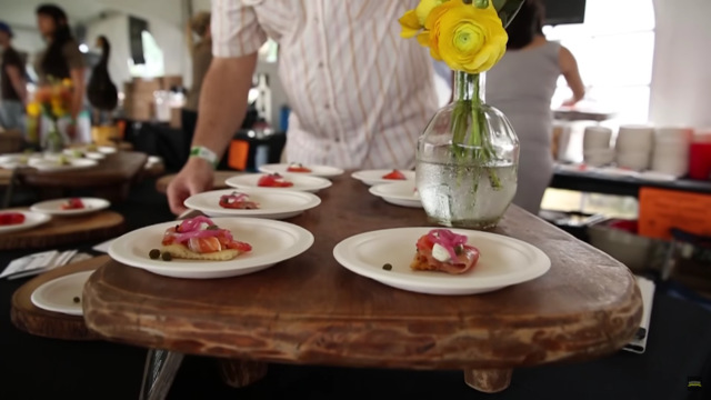 ACL Festival culinary art. Photo by: ACL Festival / YouTube