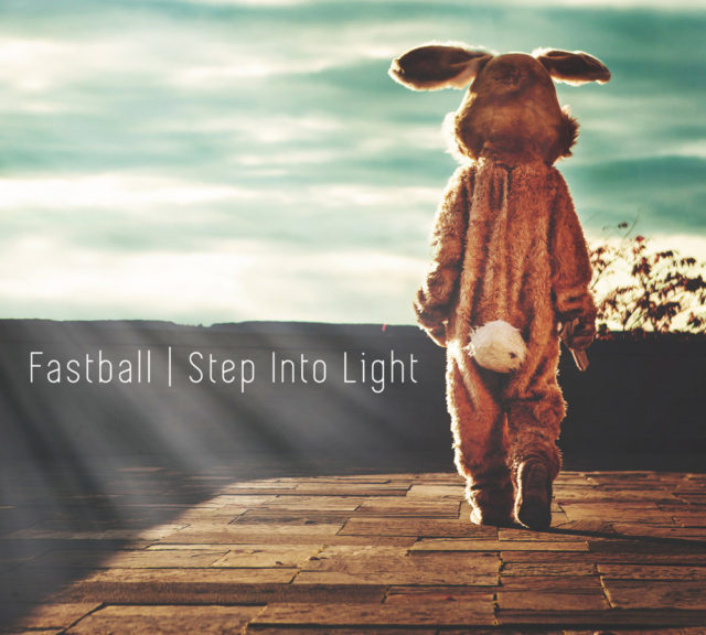 Fastball album cover for Step Into Light. Photo by: Fastball