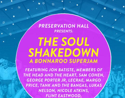 Bonnaroo soul music Superjam lineup. Photo by: Bonnaroo