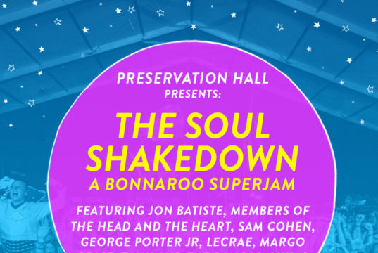 Bonnaroo soul music Superjam lineup. Photo by: Bonnaroo
