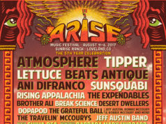 ARISE Music Festival 2017 lineup. Photo provided.