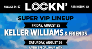 LOCKN 2017 Super VIP lineup. Photo by: LOCKN' Music Festival