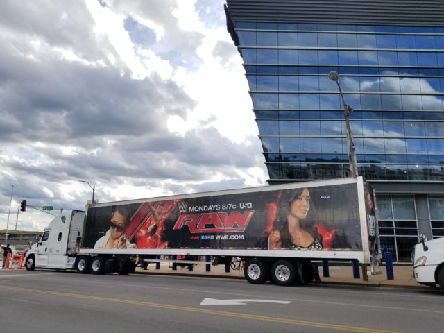 WWE Money In The Bank 2017 at the Scottrade Center in St. Louis. Photo by: Matthew McGuire