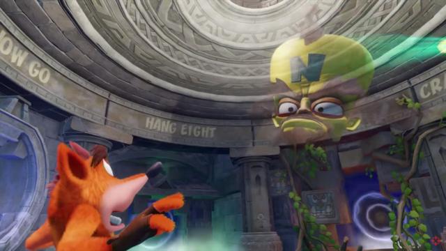 Crash Bandicoot N Sane Trilogy screen shot. Photo by: IGN / YouTube