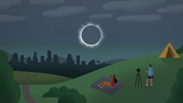 Solar eclipse 2017. Photo by: Google / YouTube