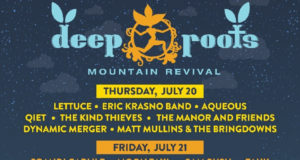 Deep Roots Mountain Revival 2017 daily lineup. Photo provided.