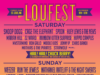 LouFest 2017 daily lineup. Photo provided.
