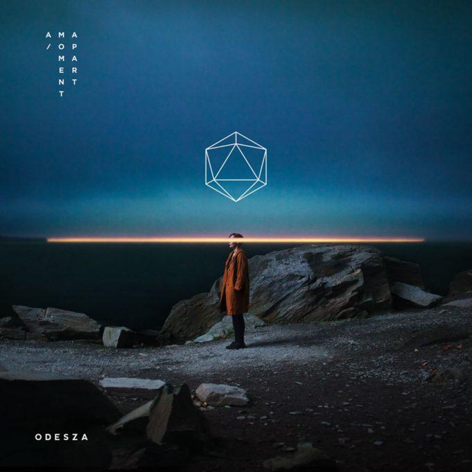 ODESZA album cover for A Moment Apart. Photo by: ODESZA