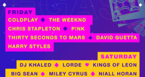 iHeartRadio Music Festival 2017 lineup. Photo by: iHeartRadio Music Festival