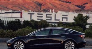 Model 3 by Tesla Motors. Photo by: Elon Musk / Twitter