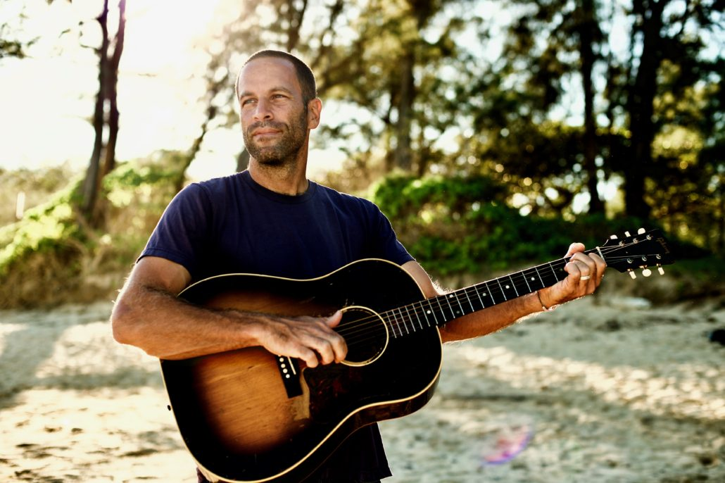 Jack Johnson promotional shot. Photo by: Morgan Maassen. Photo provided by: Brushfire Records