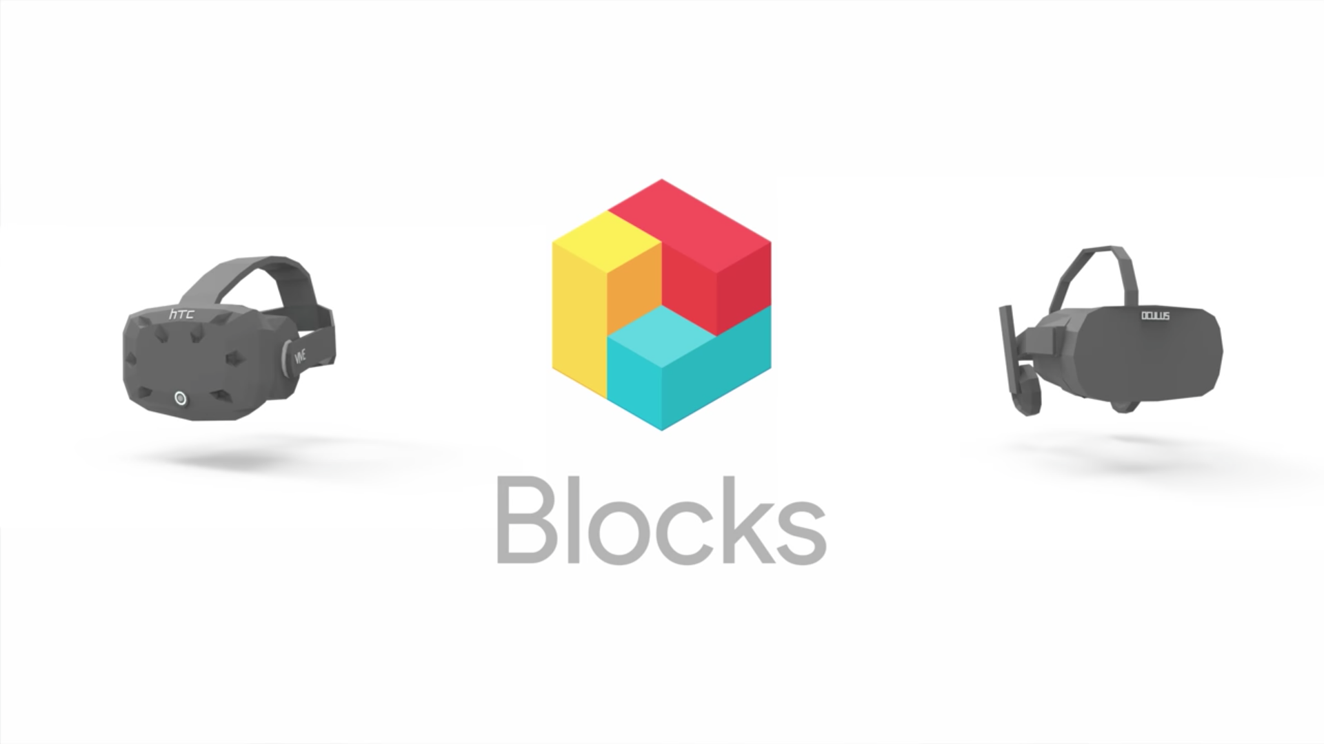 Google restructures Computer Graphics with a Virtual Reality program titled Blocks