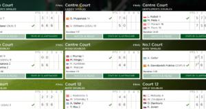 Results from Wimbledon 2017 at Wimbledon.com.